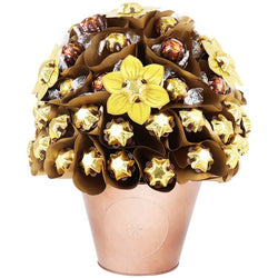 Golden Chocolate Arrangement Deluxe