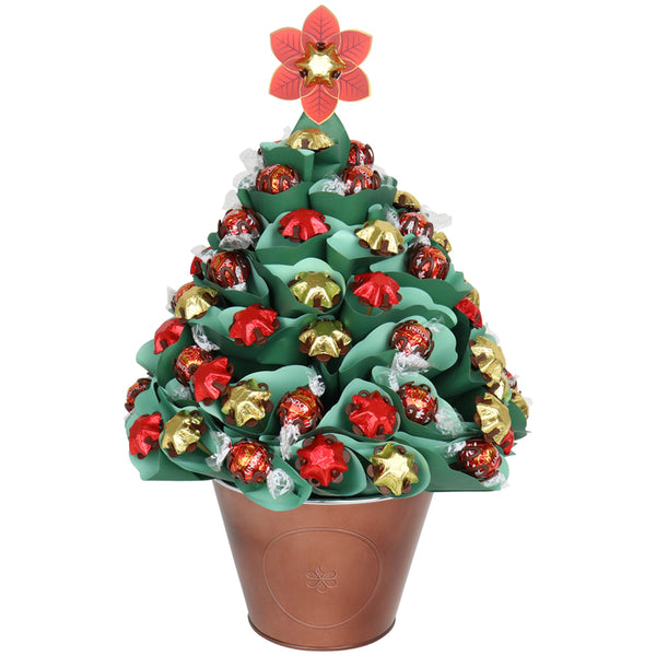 Large Green Chocolate Christmas Tree