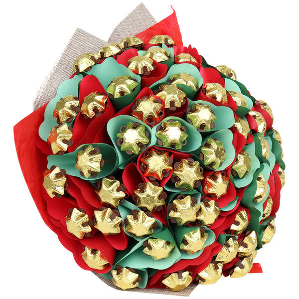 Luxury Christmas Star Chocolate Bouquet
