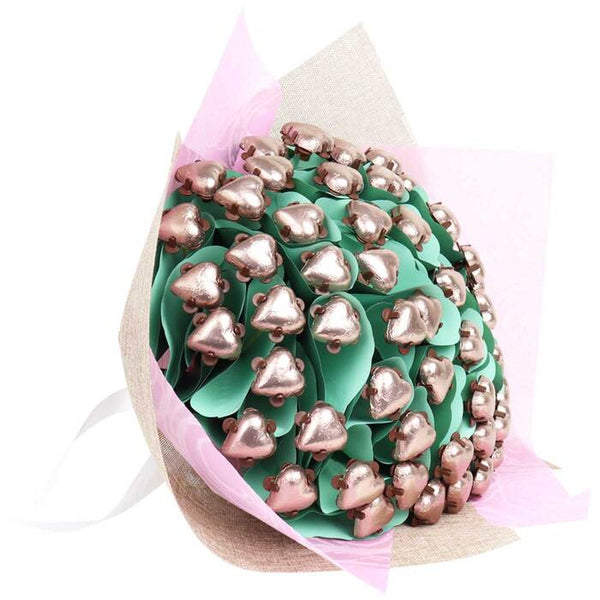 Luxury Dark chocolate Heart Bouquet