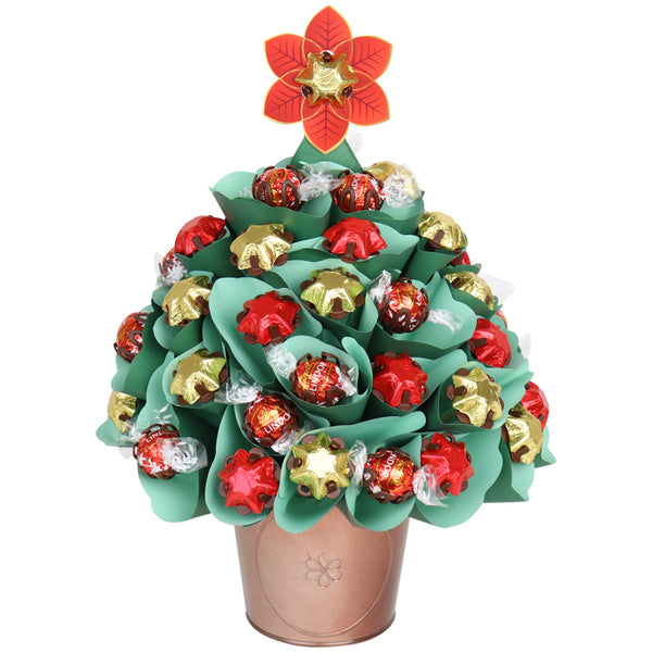 Medium Green Chocolate Christmas Tree
