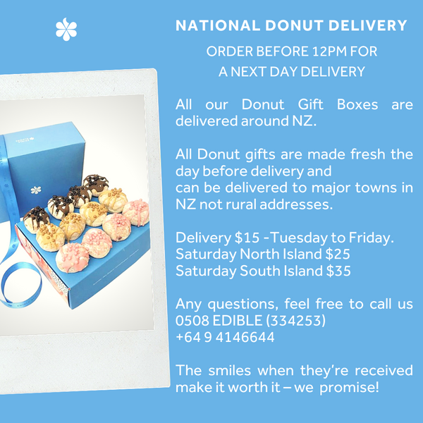 Happy Birthday Luxury Donut Gift Box