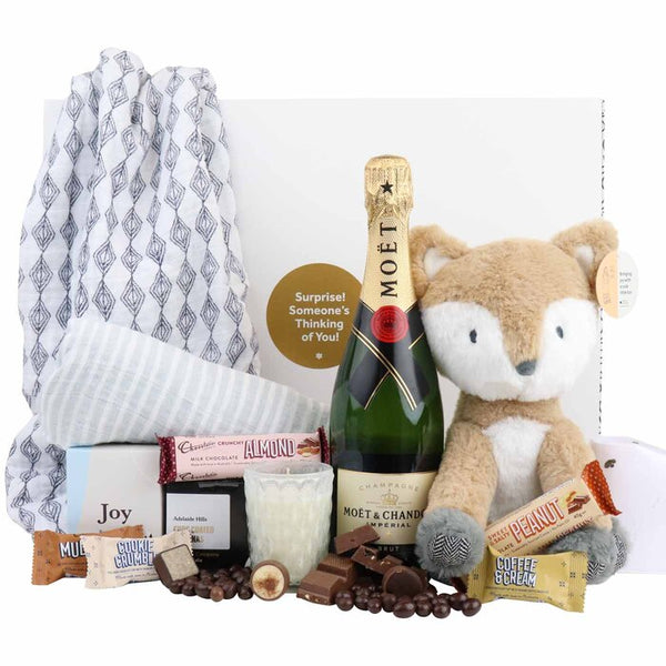 Plush Fox Luxury Gift Hamper