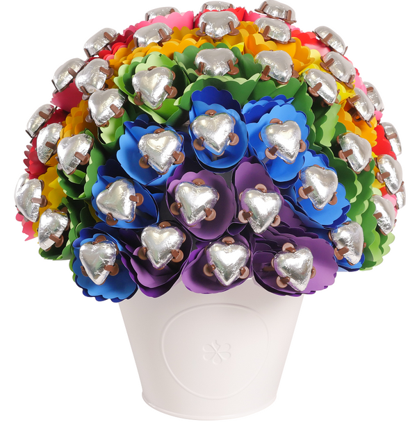 Rainbow Chocolate Bouquet Large
