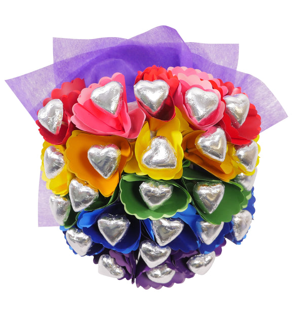 Rainbow Chocolate Bouquet