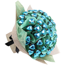 Luxury Aqua Love Bouquet