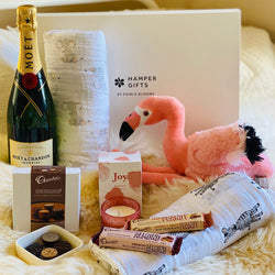 Baby Flamingo Luxury Hamper