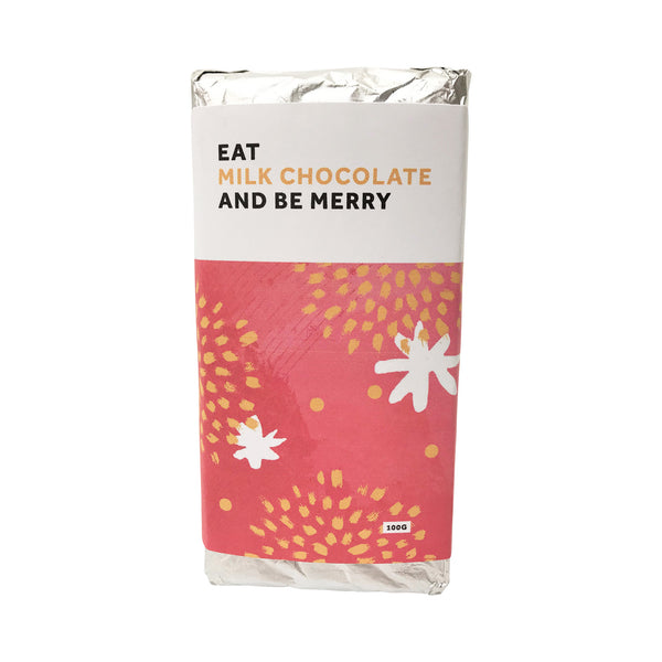 Christmas Milk Chocolate Block