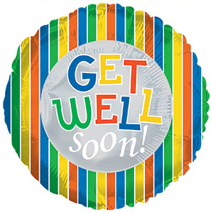 Get Well Soon Helium Balloon (extra)