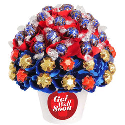 Get Well Medium Dark Chocolate Bouquet