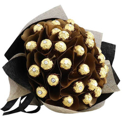 Ferrero Rocher Luxury Chocolate Bouquets Chocolate Flowers Gift Ideas Edible Blooms New Zealand