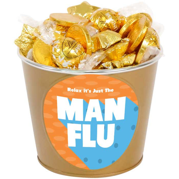 Man Flu Chocolate Bucket