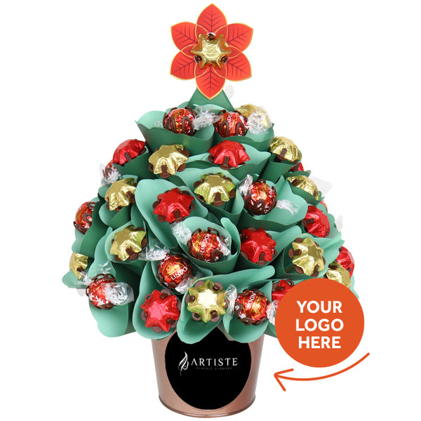 Personalised Corporate Christmas Classic Traditional Tree