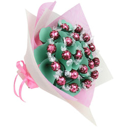 Strawberry and Cream Lindt Flower Bouquet