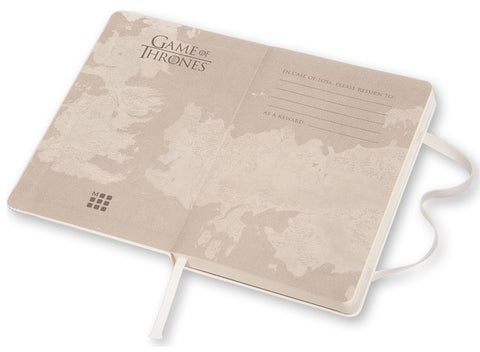 Cuaderno Game of Thrones Páginas em Blanco - Pocket