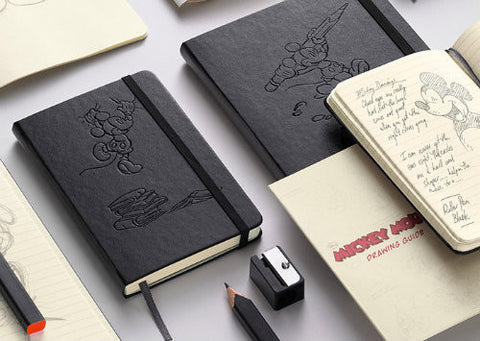 Moleskine Mickey Mouse, Rayas - Large
