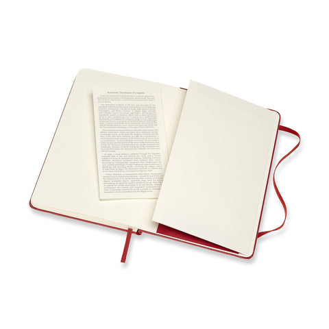 Cuaderno Classic Medium - Rojo Escarlata