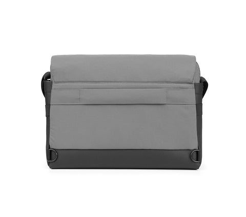 Messenger Bag ID para dispositivos digitales de hasta 15'' - Gris
