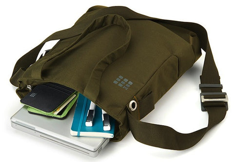 myCloud Tote Bag de color verde - Bolsa para dispositivos digitales hasta 13''