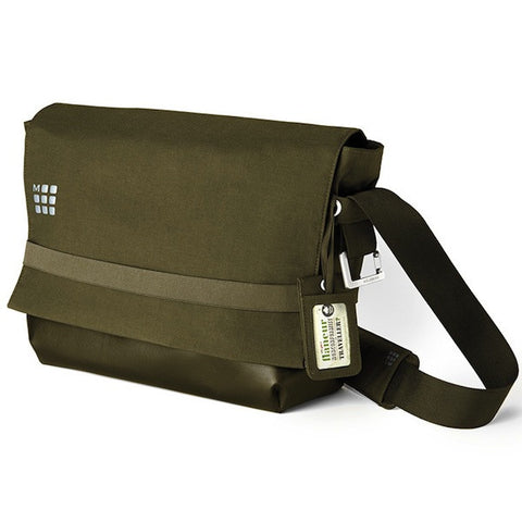 myCloud Messenger Bag de color verde - Bolsa para dispositivos digitales hasta 15''
