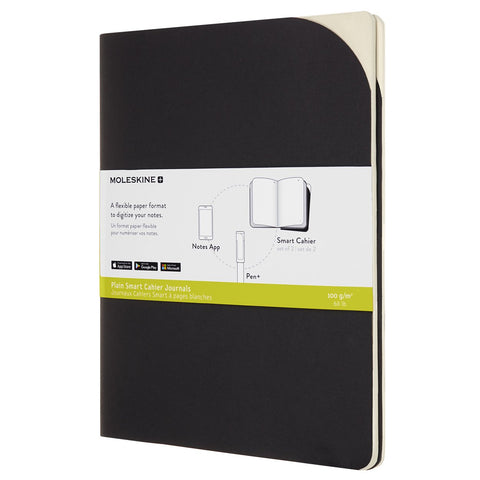 Smart Cahier XL Páginas en Blanco - Negro