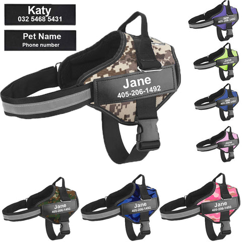 Dog Harness Customizable - Pet Shop Thailand