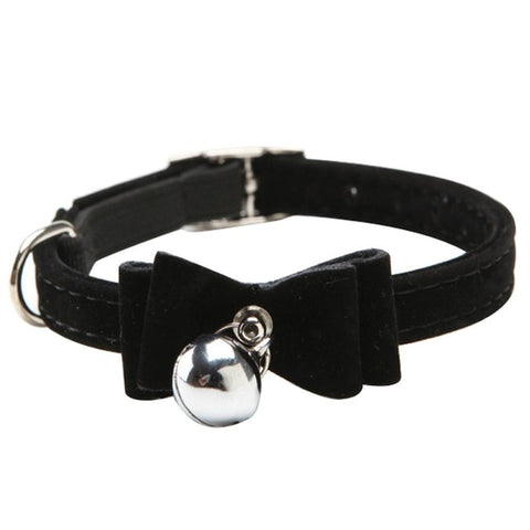 Suede Knot Cat Collar - Pet Shop Thailand