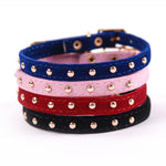 Velvet Cat Collar - Pet Shop Thailand