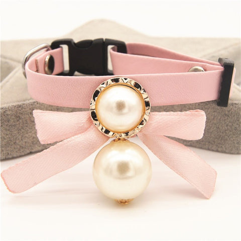 Cat Band Collar Pearl - Pet Shop Thailand