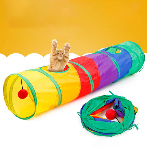 Cat Tunnel Foldable - Pet Shop Thailand