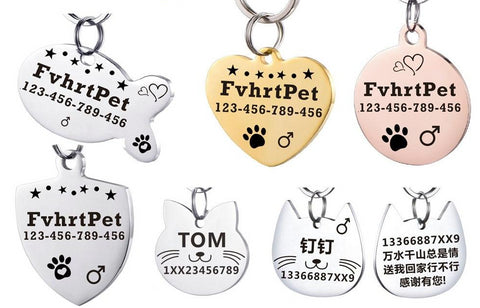 Cat ID Tag - Pet Shop Thailand