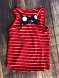 Red /White Striped Tank