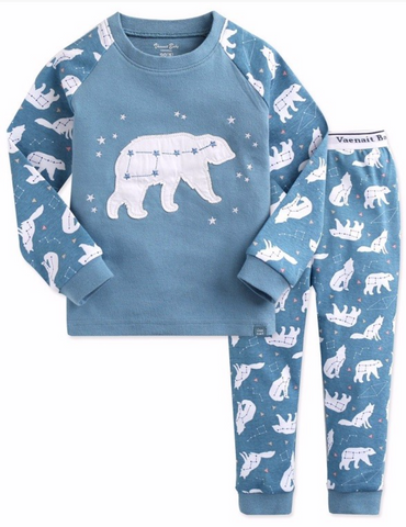 Winter Bear Pajama Set