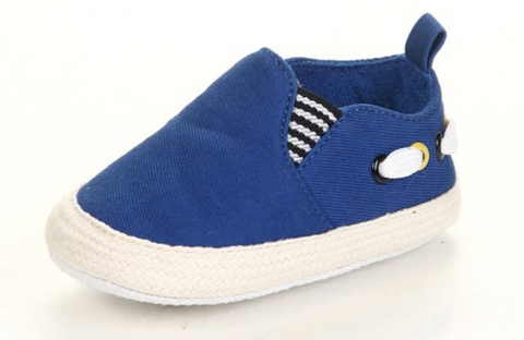Blue Canvas Shoe