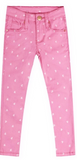 Pink Heart Jeggings
