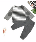 2 Piece Grey Cotton Outfit