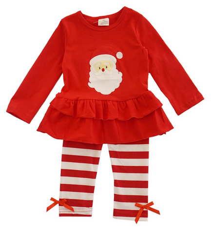 Two Piece Santa Outfit