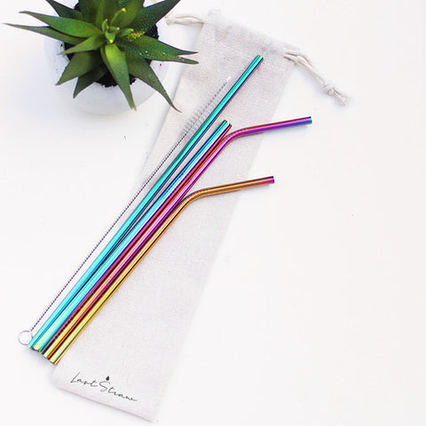 5-Piece Stainless Steele Straws