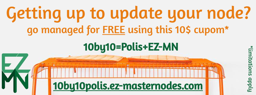 Free 90 days experience for Polis managed hosting