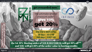 IFX referral promo: give 10% off and get 20% in credits