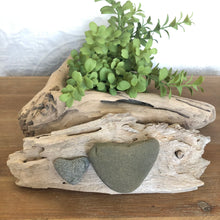 Load image into Gallery viewer, Natural Beach Stone and Driftwood Decoration