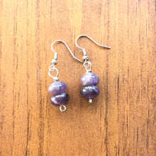 Load image into Gallery viewer, Beautiful Purple Amethyst Earrings