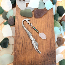 Load image into Gallery viewer, Genuine Seaglass Mermaid Bookmark