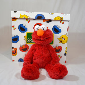 KAWS Elmo Plush Doll