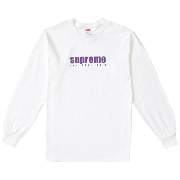 supreme real shit tee