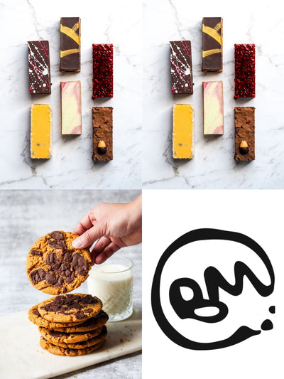 Mafia Family Pack 100% Gluten Free Desserts Delivery Melbourne Best Gluten Free Desserts Gluten Free Bakery Dedicated Gluten Free Kitchen Northcote Best Slices Best Cookie Melbourne