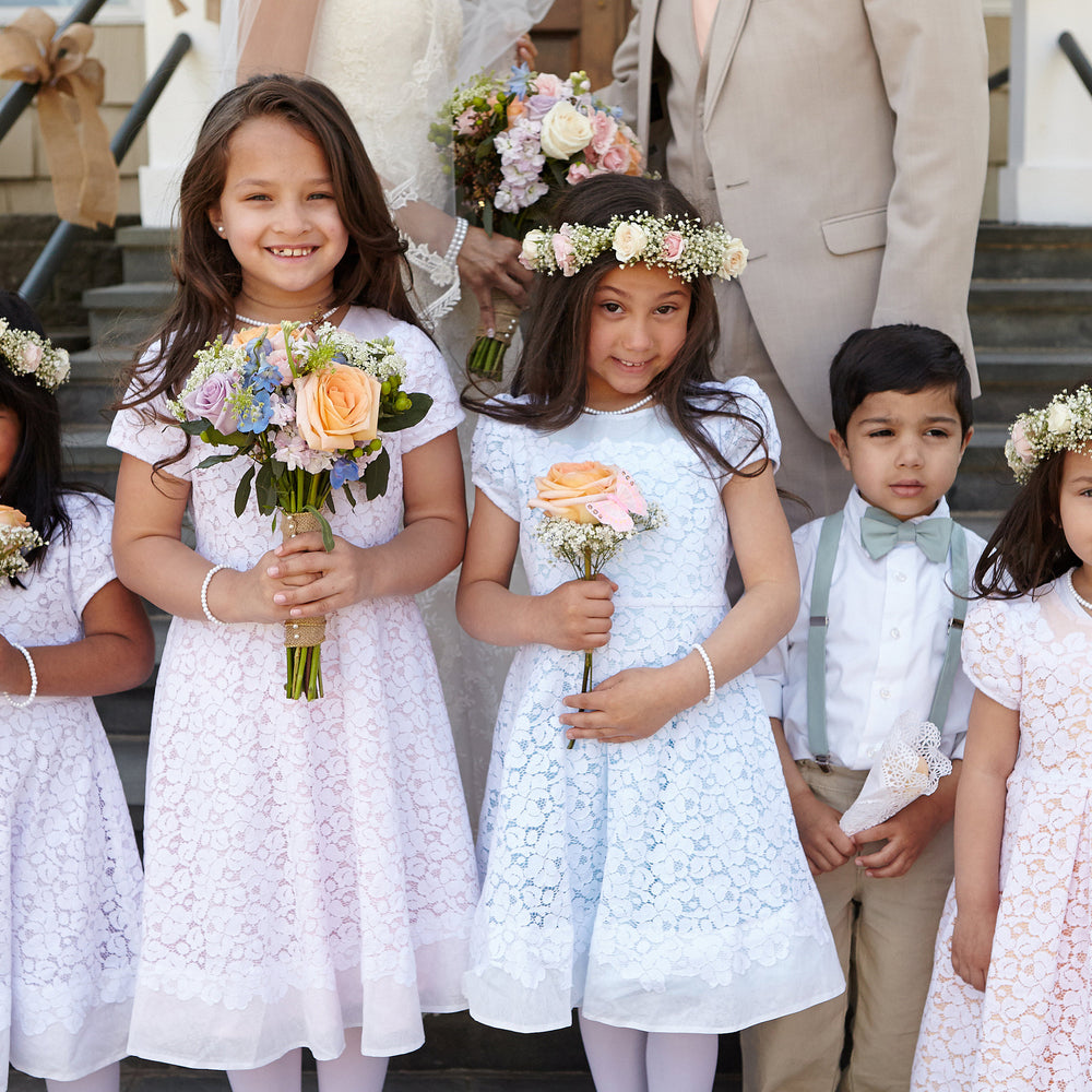 How To Measure a Girl for a Flower Girl or Communion Dress