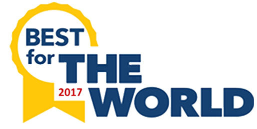 2017 Best for the World Award