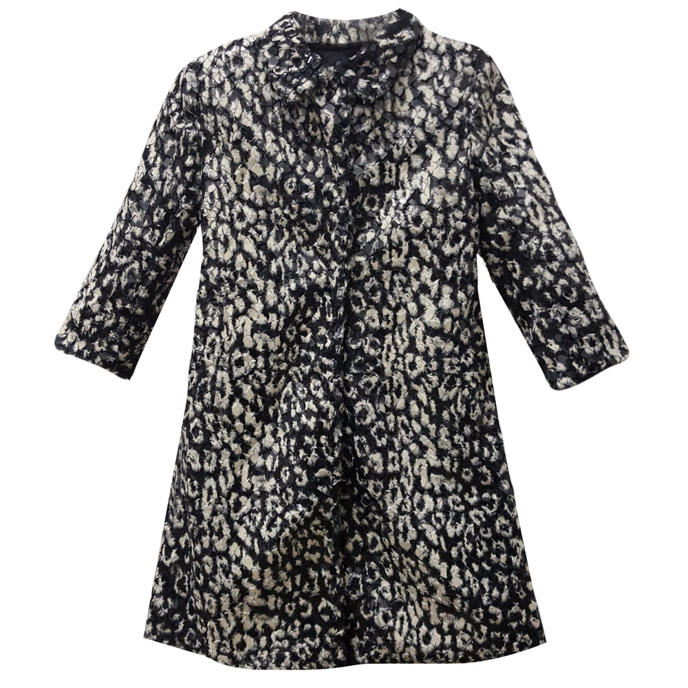 Oslo Textured Faux Fur Girls Coat