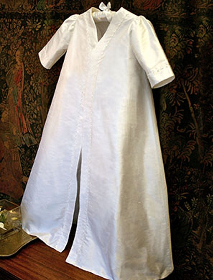 Embroidered Christening Coat